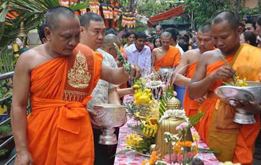 Nouvelle année au Cambodge