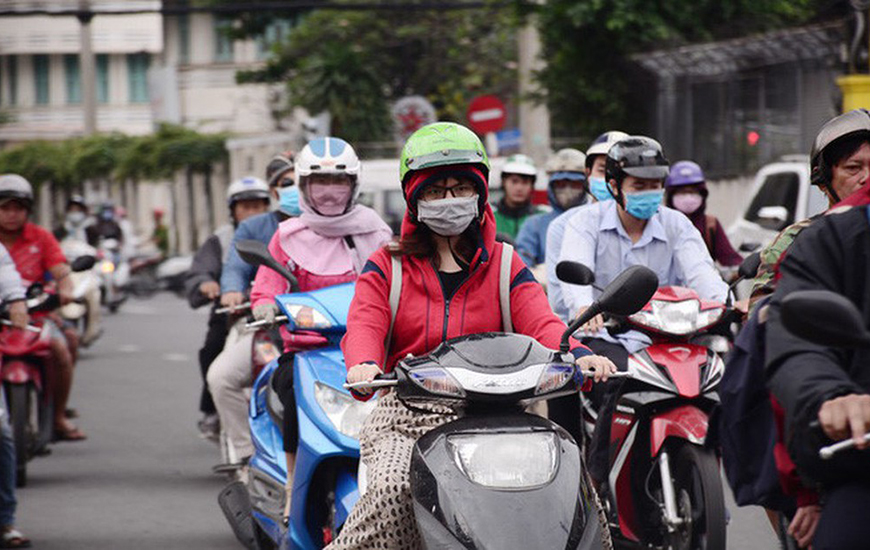 Pourquoi les vietnamiennes portent le masque ?