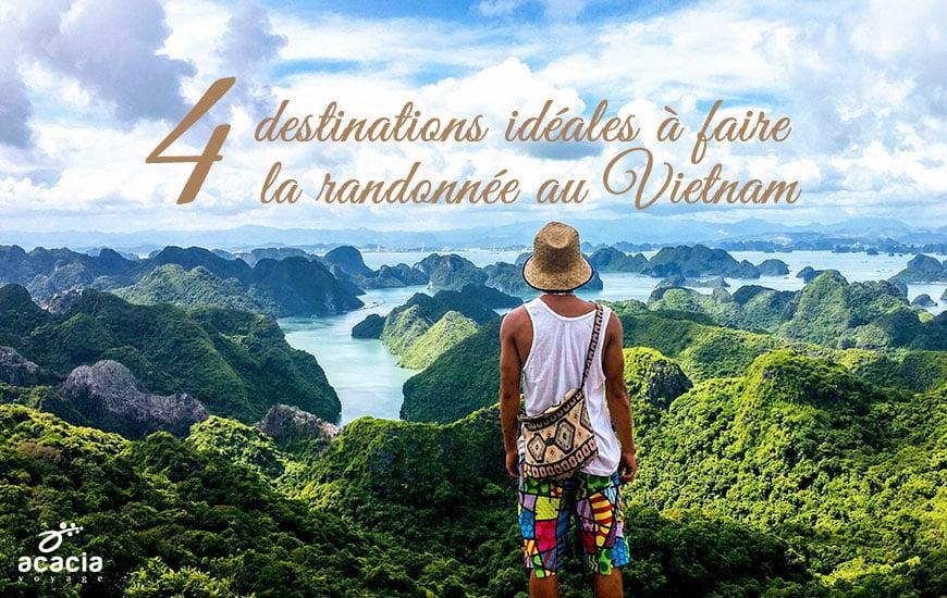 4 destinations idéales à faire la randonnée au Vietnam